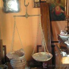 Antigüedades: BALANZA DE HIERRO. Lote 23422118
