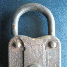 Antigüedades: CANDADO ANTIGUO GRANDE.SIN LLAVE. Lote 19248921