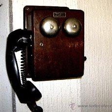 Teléfonos: TELEFONO MUY ANTIGUO. Lote 26300148