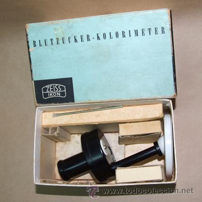 Antigüedades: Colorímetro Zeiss Ikon - Foto 2 - 27614540