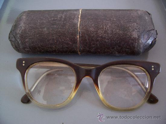 ANTIGUAS GAFAS MARCA ´ METZLER ´ EN SU ESTUCHE (Antigüedades - Técnicas - Instrumentos Ópticos - Gafas Antiguas)