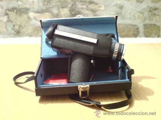 CAMARA DE FILMACION S 8 // EUMIG VIENETTE 5 // // VINILOVINTAGE (Antigüedades - Técnicas - Aparatos de Cine Antiguo - Cámaras de Super 8 mm Antiguas)