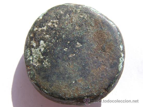 Antigüedades: EXTRAORDINARIO PONDERAL. TRACIA. SIGLO III-IV AC.BRONCE. ROSTRO DE HOMBRE - Foto 3 - 27131122