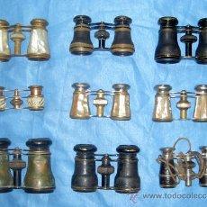 Antigüedades: LOTE DE 9 BINOCULARES DE OPERA. Lote 26875353