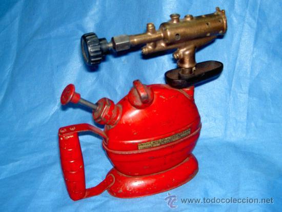 SOLDADOR UNIQUE MFG CO CHICAGO (1) (Antigüedades - Técnicas - Herramientas Profesionales - Mecánica)