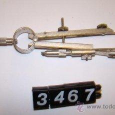 Antigüedades: COMPAS NIQUELADO. Lote 10572274
