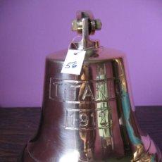 Antigüedades: CAMPANA DE BRONCE. Lote 83673478