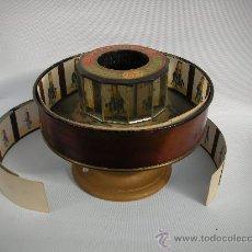 Antigüedades: PRAXINOSCOPIO EMILE REYNAUD 1879. Lote 10641305