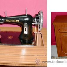Antigüedades: ANTIGUA MÁQUINA DE COSER WERTHEIM. . Lote 27295767