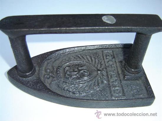 PLANCHA Nº 3 CON DIBUJO (Antigüedades - Técnicas - Planchas Antiguas - Varios)