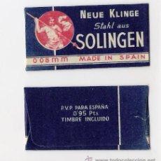 Antigüedades: SOLIGEN MADE IN SPAIN -NEUE KLINGE- PRECIO 0.95 PTS.. Lote 182632527