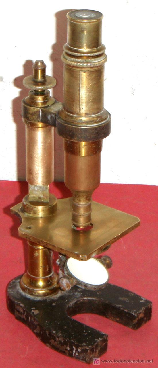 MICROSCOPIO NACHET&FILS C1880/1900 (Antigüedades - Técnicas - Instrumentos Ópticos - Microscopios Antiguos)