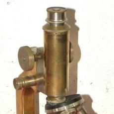 Antigüedades: MICROSCOPIO HEARSON C1900. Lote 17295833
