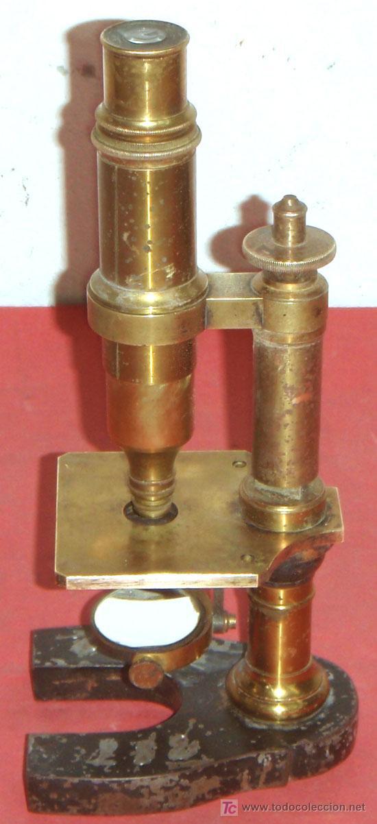Antigüedades: MICROSCOPIO NACHET&FILS C1880/1900 - Foto 2 - 15461907