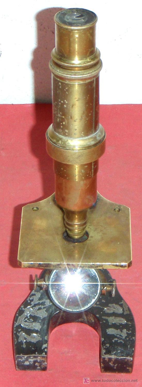 Antigüedades: MICROSCOPIO NACHET&FILS C1880/1900 - Foto 4 - 15461907