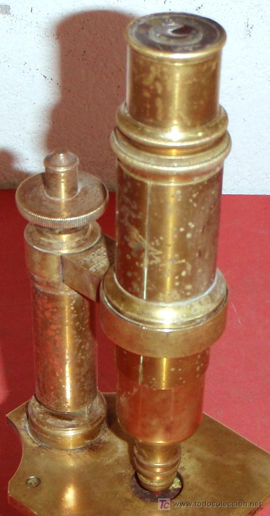 Antigüedades: MICROSCOPIO NACHET&FILS C1880/1900 - Foto 8 - 15461907