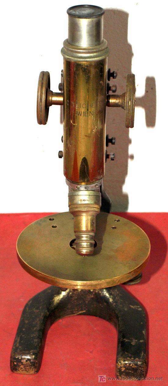 Antigüedades: MICROSCOPIO REICHERT C1900 - Foto 4 - 15461910