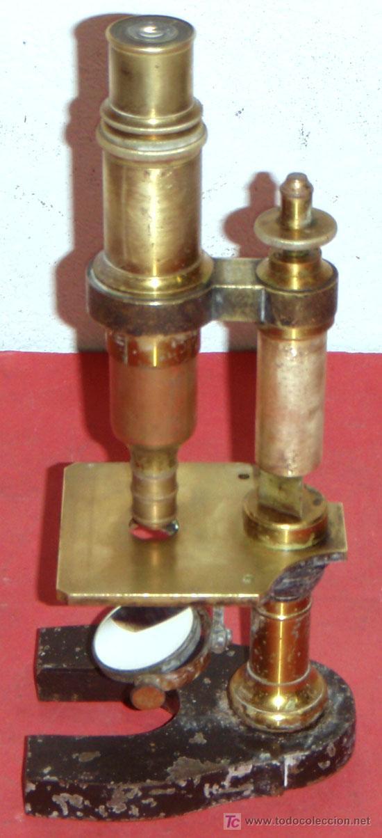 Antigüedades: MICROSCOPIO NACHET&FILS C1880/1900 - Foto 3 - 17295832