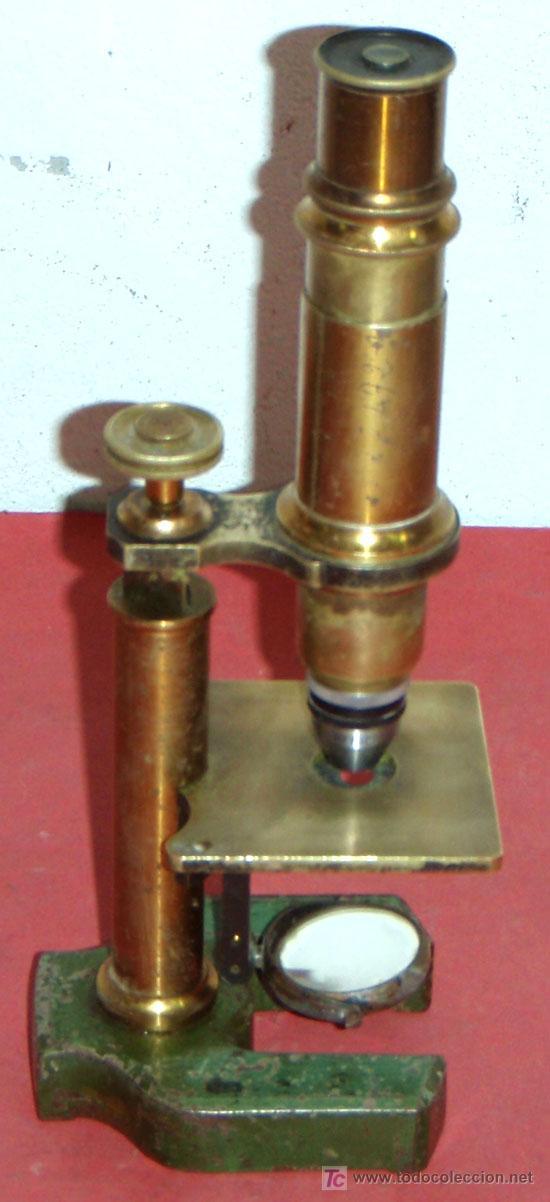 Antigüedades: MICROSCOPIO C1880/1900 - Foto 2 - 17295836