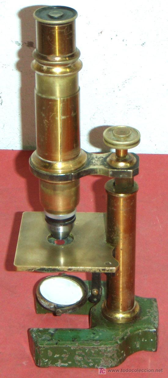 Antigüedades: MICROSCOPIO C1880/1900 - Foto 3 - 17295836