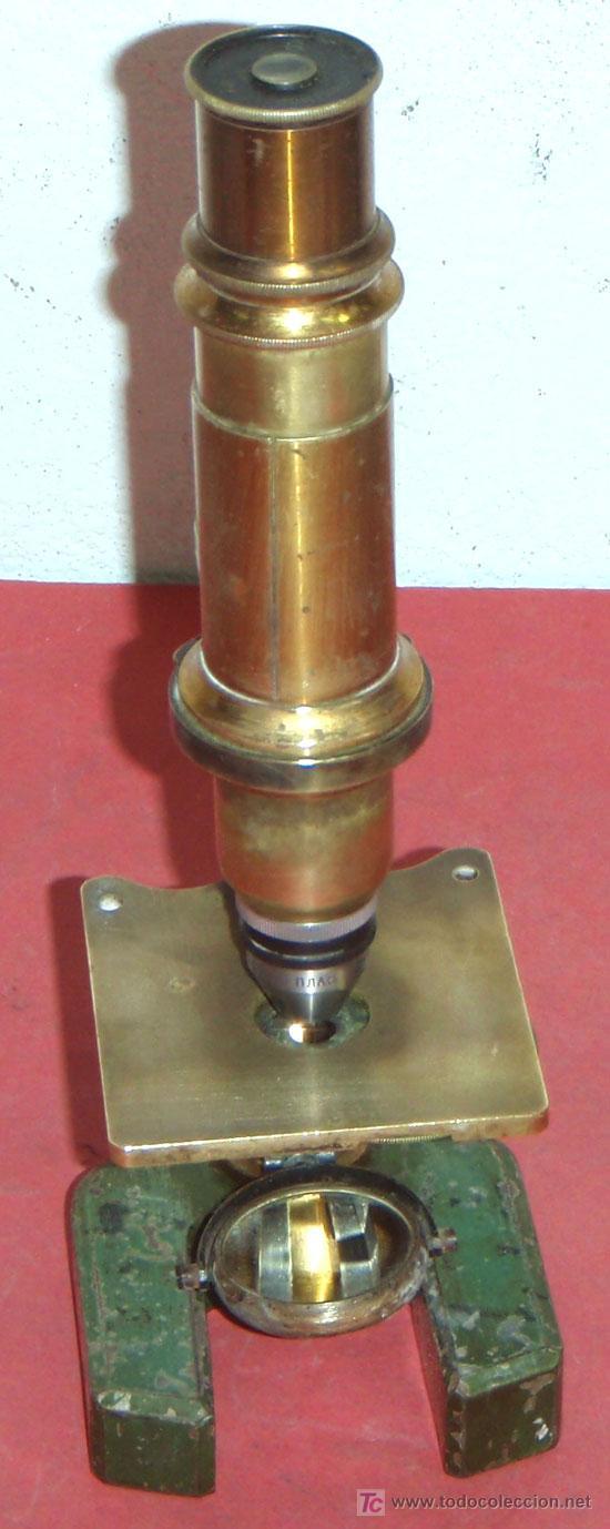 Antigüedades: MICROSCOPIO C1880/1900 - Foto 4 - 17295836