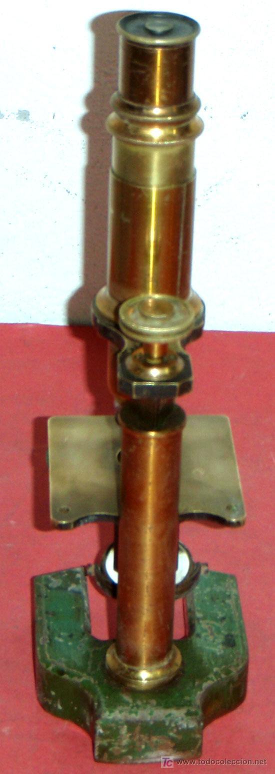 Antigüedades: MICROSCOPIO C1880/1900 - Foto 5 - 17295836