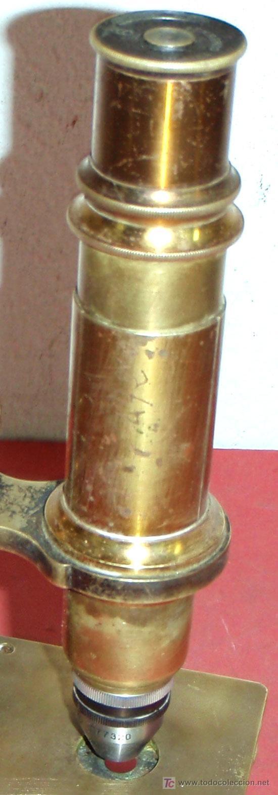 Antigüedades: MICROSCOPIO C1880/1900 - Foto 6 - 17295836