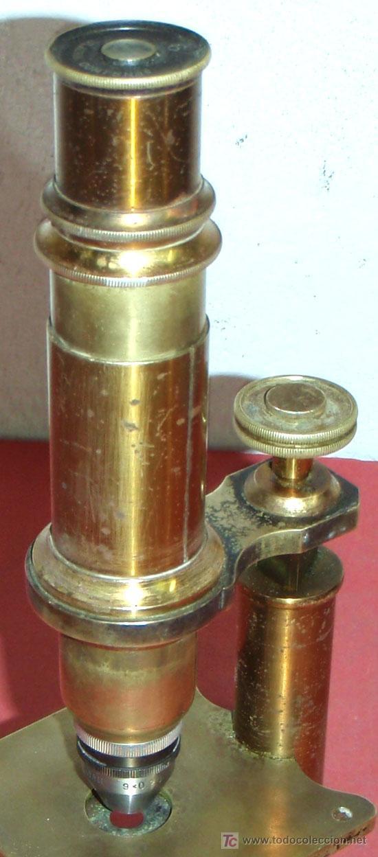 Antigüedades: MICROSCOPIO C1880/1900 - Foto 7 - 17295836