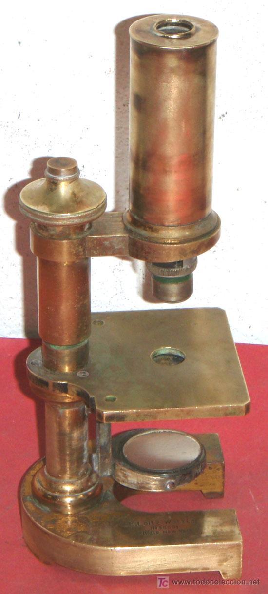 Antigüedades: MICROSCOPIO LEITZ C1880/1900 - Foto 3 - 17295837