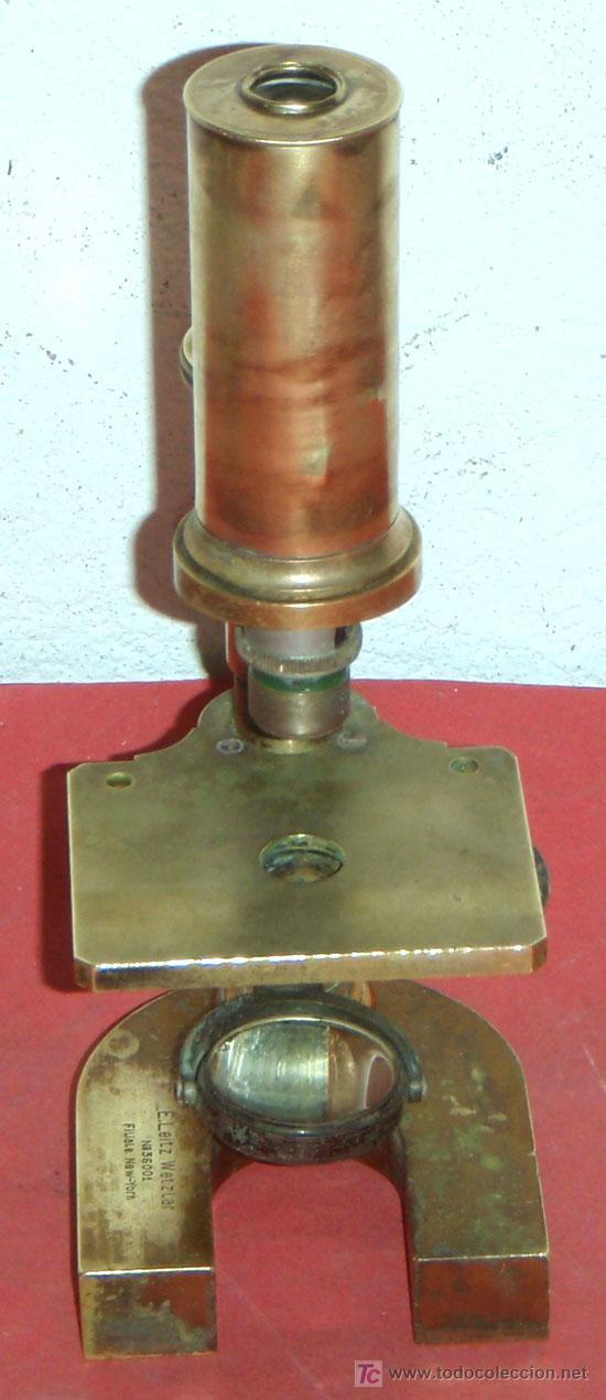 Antigüedades: MICROSCOPIO LEITZ C1880/1900 - Foto 4 - 17295837