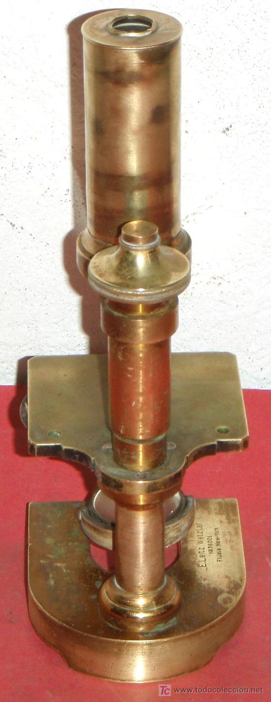 Antigüedades: MICROSCOPIO LEITZ C1880/1900 - Foto 5 - 17295837