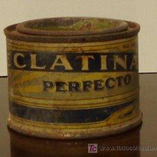 Antigüedades: BOTE DE ESMALTE ECLATINA. ALTURA 5 CM. Lote 23193812
