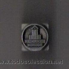 Antigüedades: BOERHINGER INGELHEIM *TACO/ESCUDO ANAGRAMA DE IMPRESION*. Lote 11341375