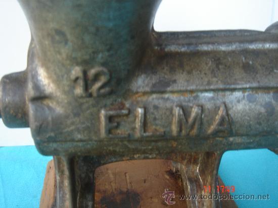 Antigüedades: MARCA ELMA Y Nº 12 - Foto 2 - 27205427