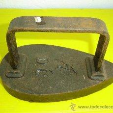 Antigüedades: PLANCHA DE HIERRO ANTIGUA Nº 7. Lote 11579177