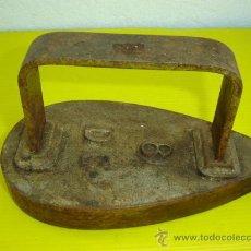 Antigüedades: PLANCHA DE HIERRO ANTIGUA Nº 8. Lote 11579190