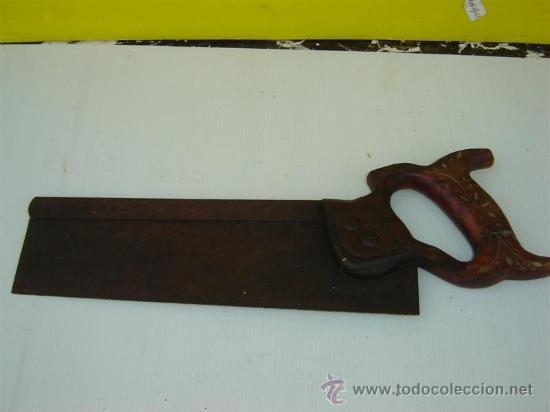 SERRUCHO ANTIGUO (Antigüedades - Técnicas - Herramientas Profesionales - Carpintería )