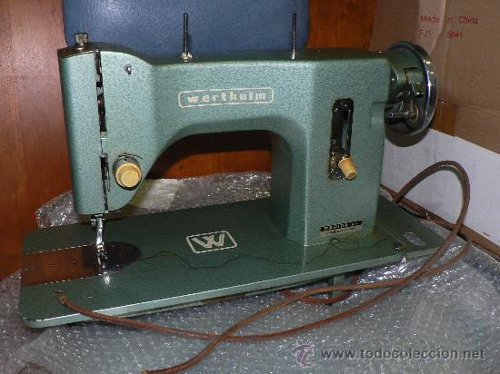 Antigüedades: WERTHEIM maquina de coser - Foto 2 - 27490138