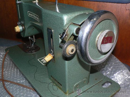 Antigüedades: WERTHEIM maquina de coser - Foto 5 - 27490138