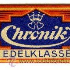 Antigüedades: CUCHILLA AFEITAR CHRONIK. Lote 11701251
