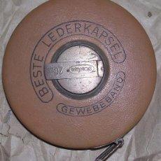 Antiquitäten - FLEXÓMETRO, METRO O CINTA MÉTRICA BONUM (GERMANY) (20 METROS), ORIGINAL 1948; A ESTRENAR - 24867150