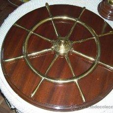 Antigüedades: RUEDA DE GOBIERNO DE TIMON. Lote 22711403