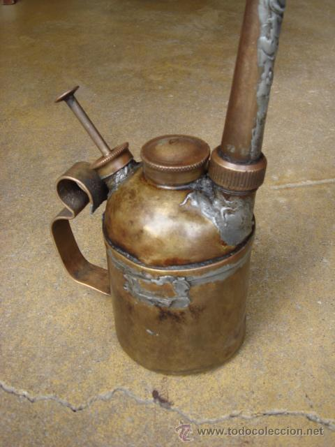 ACEITERA ANTIGUA (Antigüedades - Técnicas - Herramientas Profesionales - Mecánica)