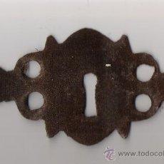 Antigüedades: BOCALLAVE / EMBELLECEDOR DE CERRADURA . Lote 22839066