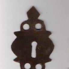 Antigüedades: BOCALLAVE / EMBELLECEDOR DE CERRADURA. Lote 22839067