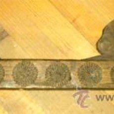 Antigüedades: GARLOPA ANTIGUA TALLADAS LAS 5 CARAS, MEDIDA 84,5 CM.. Lote 25319390