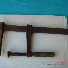 Antigüedades: SARGENTO DE GRANDES DIMENSIONES 41X18. Lote 27567427