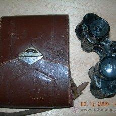 Antigüedades: PRISMATICO ALEMAN, CON FUNDA.. Lote 12395522