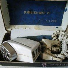 Antigüedades: PHILISHAVE DE LUXE -FUNCIONA. Lote 27387522