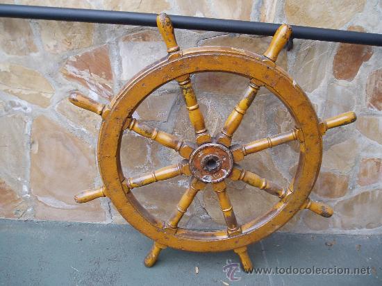 Antiguo timon de barco comprar antig edades marinas y - Antiguedades de barcos ...